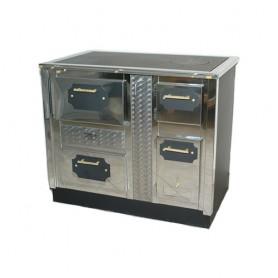 SPC 100 25kW štednjak na drva za centralno grijanje sa pećnicom