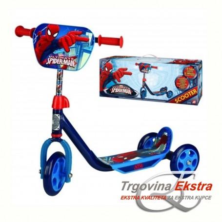 Dječji romobil na tri kotača - Spiderman
