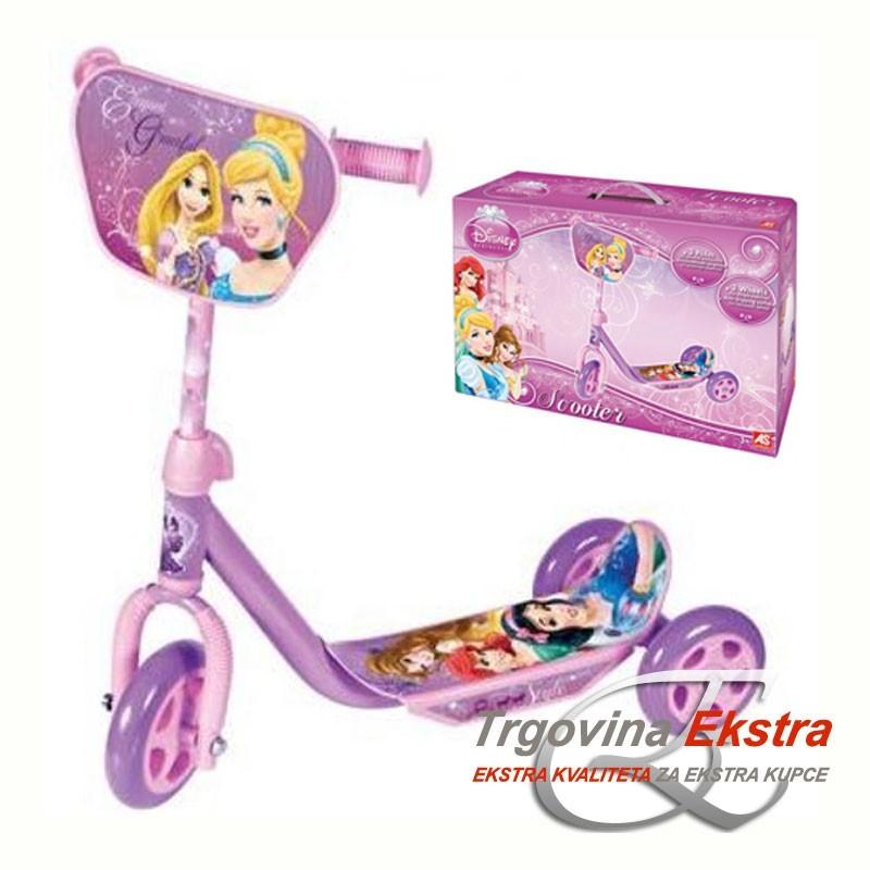 Dječji romobil na tri kotača - Disney princeze