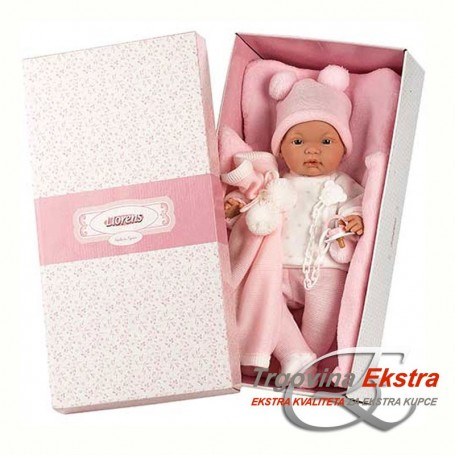 Beba curica u ružičastom - Llorens