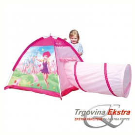 Šator za igru s tunelom