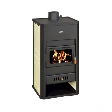 Prity S3W13 fireplace stove for central heating