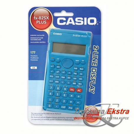 CASIO kalkulator FX-82 SX-S-EH plus (177funkcija)