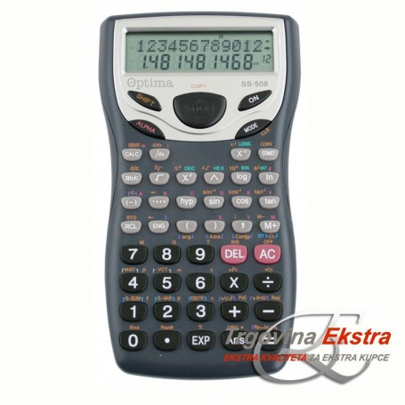 Kalkulator Optima SS-508 (401 funkcija)