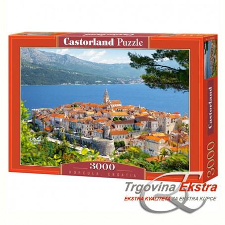 Puzzle, 3000 kom - Korčula, Hrvatska