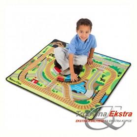 Tepih za igranje - željeznica