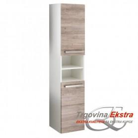 Side cabinet Tia 2v2o - gray mara