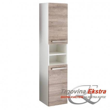 Side cabinet Tia 2v2o - gray mara