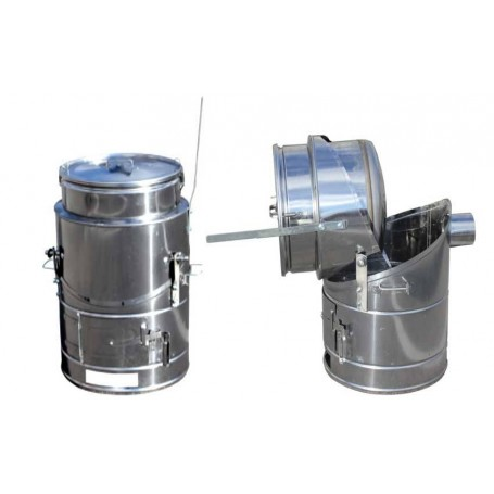 Quick-cooking 100 liters stainless steel boiler A430