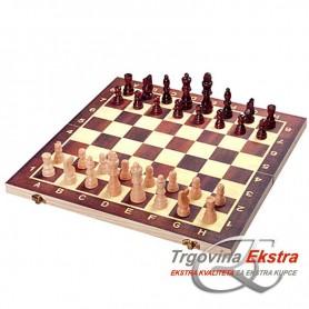 Drveni šah, 34 x 34 cm