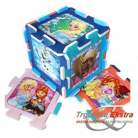 Spužvaste puzzle za pod - Frozen