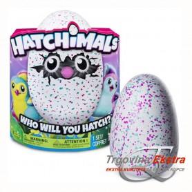 Hatchimals interaktivna plišana igračka u zelenom jajetu
