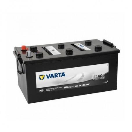 Battery Varta Pro Motive Black 12V-220Ah for commercial vehicles