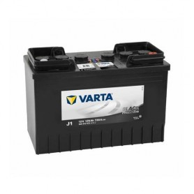 Battery Varta Pro Motive Black 12V-125Ah for commercial vehicles