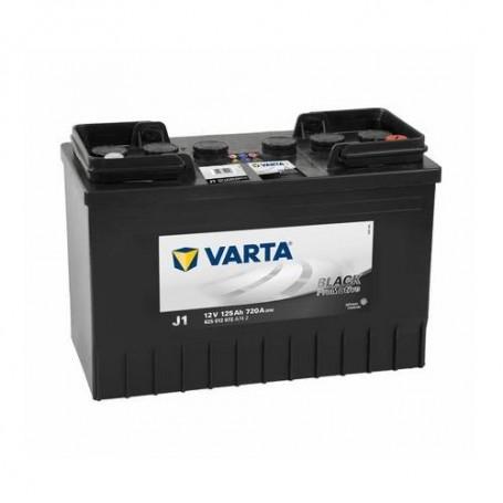Battery Varta Pro Motive Black 12V-125Ah for commercial vehicles