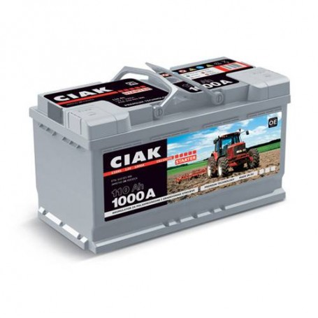 Battery CIAK Starter Special Tractor 12V-110Ah R+ for commercial vehicles