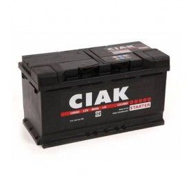 Battery CIAK Starter 12V-100Ah D+ for personal vehicles