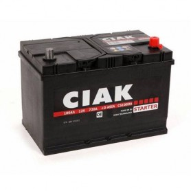 Battery CIAK Starter Asia 12V-100Ah R+ for personal vehicles