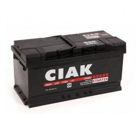 Battery CIAK Starter 12V-88Ah R+ for personal vehicles