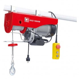 Electric wire rope hoist 1000kg ESZ1000D 230V Holzmann Maschinen