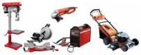 Velika ponuda profesionalnih i hobi strojeva i alata.