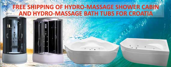 Hydromassage bath tubes and shower cabin free shipping Trgovina Ekstra