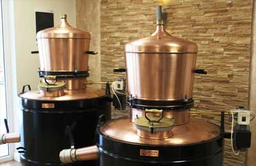 Brandy boilers
